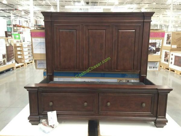 Costco Universal Broadmoore King Bed Amp Nightstand For Sale