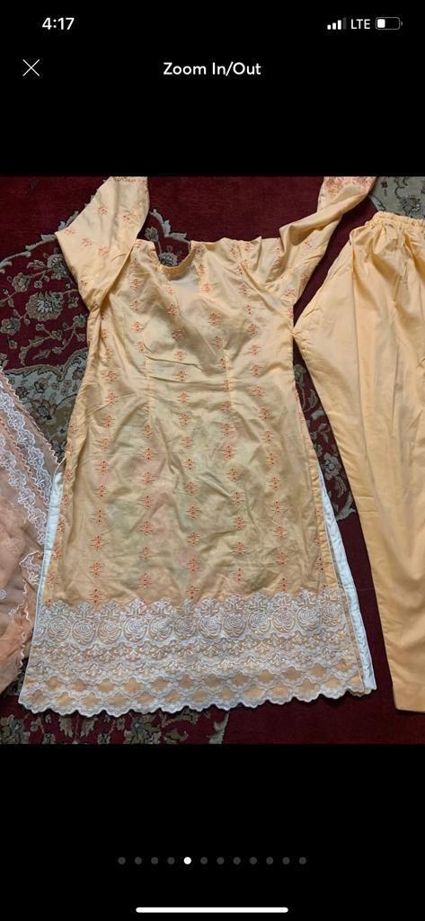 New 3 piece xl charisma laxauary Pakistani dress