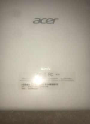 Acer Iconia A1- 810 for Sale in Baltimore, MD