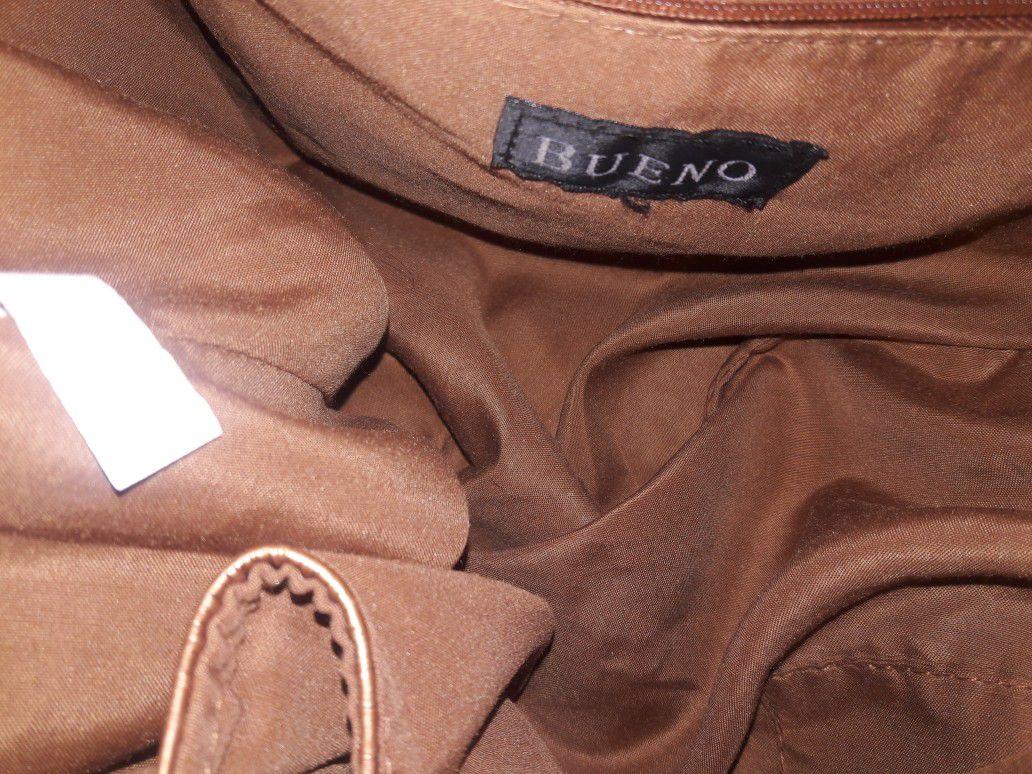 Bueno Copper drawstring purse