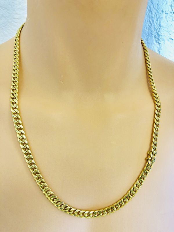 Cuban Link Chain For Sale >> 10k Gold Cuban Link Chain For Sale In Miami Fl Offerup