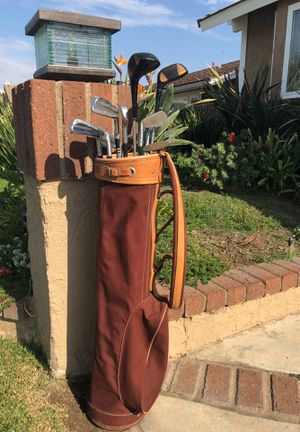 Golf clubs Wilson Sam Snead 2-9 irons/1&3 drivers for Sale in Brea, CA