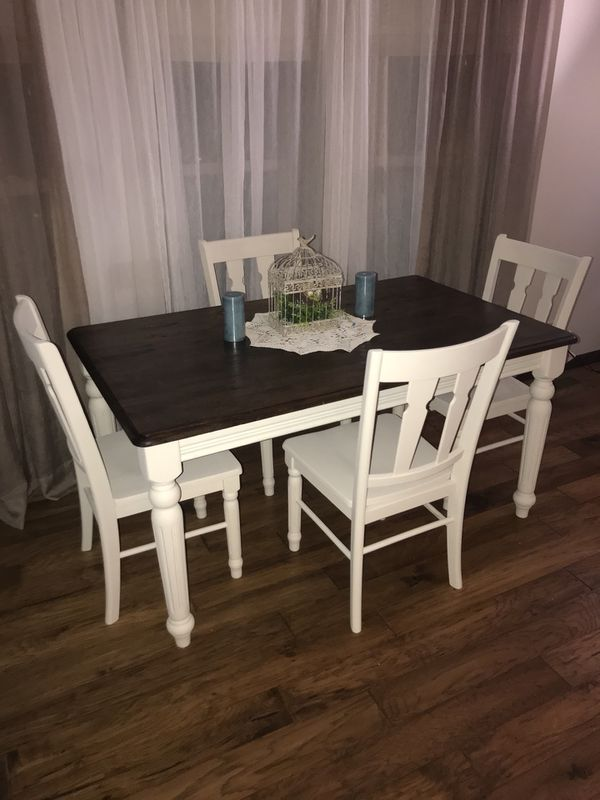 Farmhouse Kitchen Table Amp Chairs For Sale In Boys Town Ne