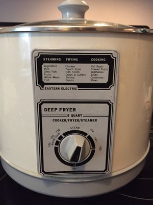 Deep Fryer - Eastern Electric 5 Quart for Sale in Columbus, OH