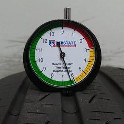 225 50 18 Pirelli Cinturato P7 A/S Runflat 6.40/32 70% life C3788 95v Thumbnail