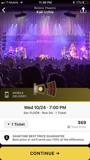 Kali uchis tickets for Sale in Chicago, IL