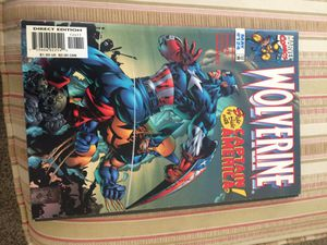 Wolverine and captain America comic book for Sale in Columbus, OH