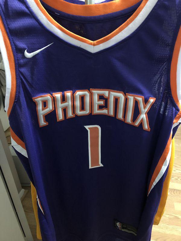 super popular e0ddc 0c2ad 2018 2019 Phoenix Suns Devin Booker NBA Basketball Swingman Jersey. for  Sale in Tempe, AZ - OfferUp