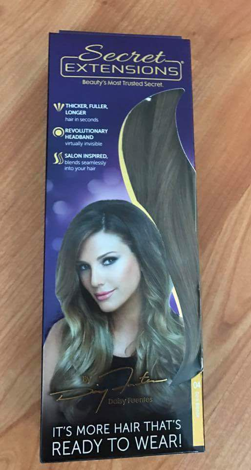 Secret Hair Extensions By Daisy Fuentes Brand New Never Opened For