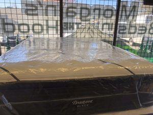 Photo NEW: QUEEN SIZE SIMMONS BEAUTYREST BLACK L-CLASS PILLOW TOP MATTRESS & BOX SPRING BED SET