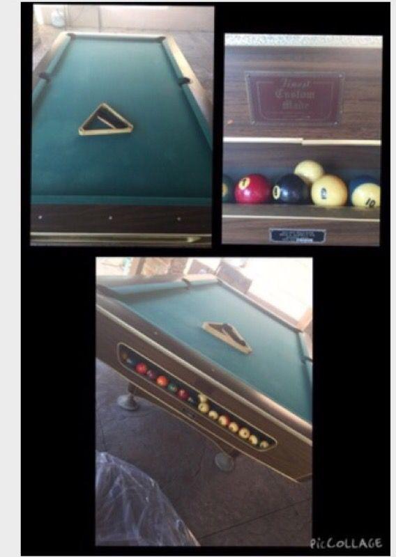 Delmo Billiard Slate Pool Table For Sale In Carson CA OfferUp - Delmo pool table