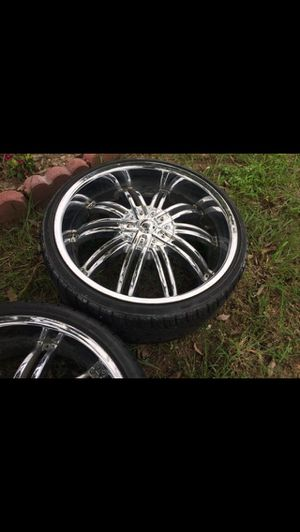 22 in rims for Sale in Austin, TX