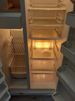 Maytag side by side refrigerator Thumbnail