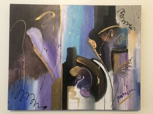 Montague Abstract Painting for Sale in McLean, VA
