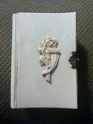 1884 Prague, Ivory Bound Prayer Book ~ Bible for Sale in Laveen Village, AZ