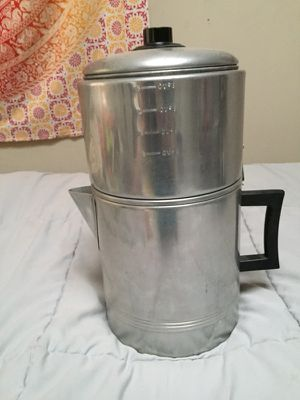 Vintage 18 cup stovetop coffee maker for Sale in Baltimore, MD