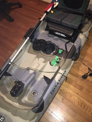 Field And Stream Eagle Talon 120 Kayak For Sale In Garland