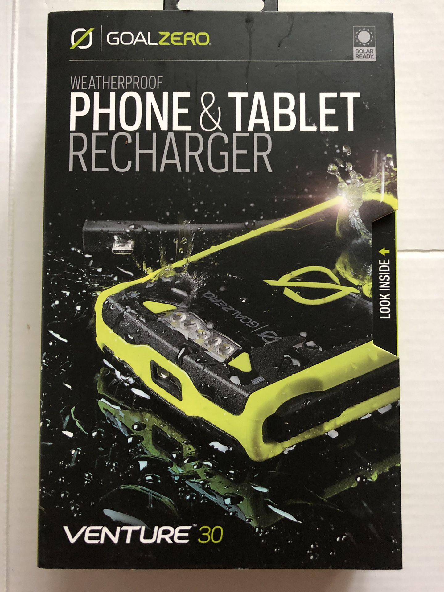 Phone tablet recharger venture 30