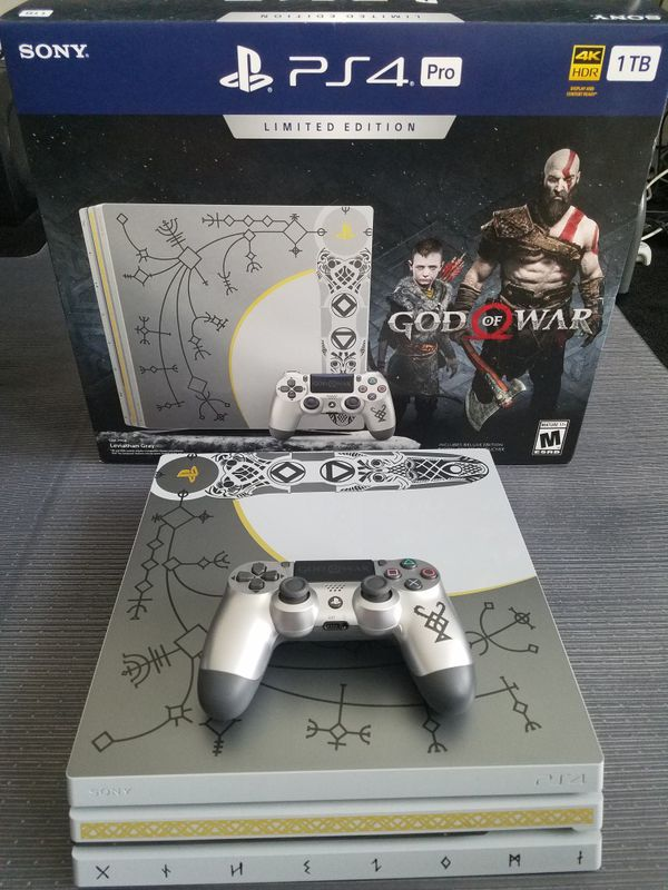 God Of War Limited Edition Ps4 Pro Console For Sale In Aldie Va Offerup