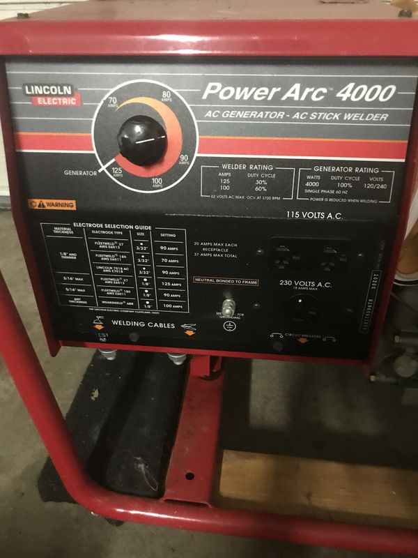 Lincoln Electric Power Arc 4000  Never used  for Sale in Mentor, OH