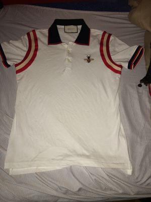 Gucci Embroidered Butterfly Polo sz small for Sale in Alexandria, VA