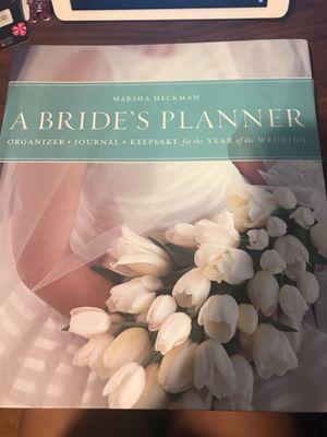 Bride's Planner- Wedding for Sale in Rockville, MD