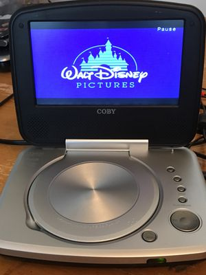 """Coby 7"""" portable DVD player for Sale in Raleigh, NC"""