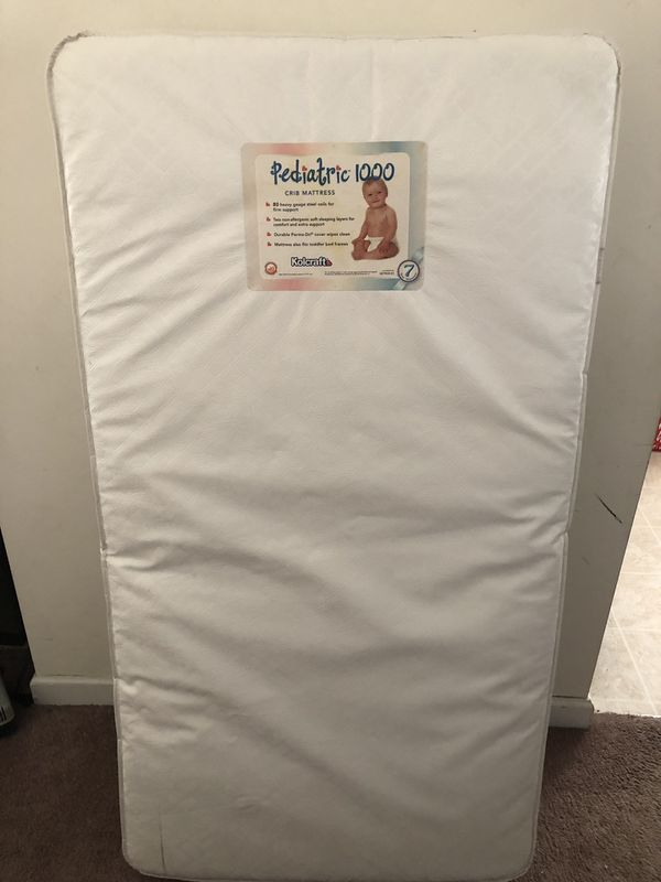 huge discount ce268 5eb16 Pediatric 1000 crib/toddler bed mattress for Sale in Winston-Salem, NC -  OfferUp
