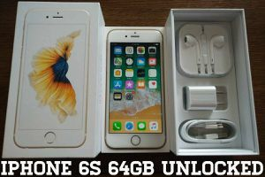 Gold Iphone 6S UNLOCKED 64GB w/ Box & Accessories for Sale in Arlington, VA
