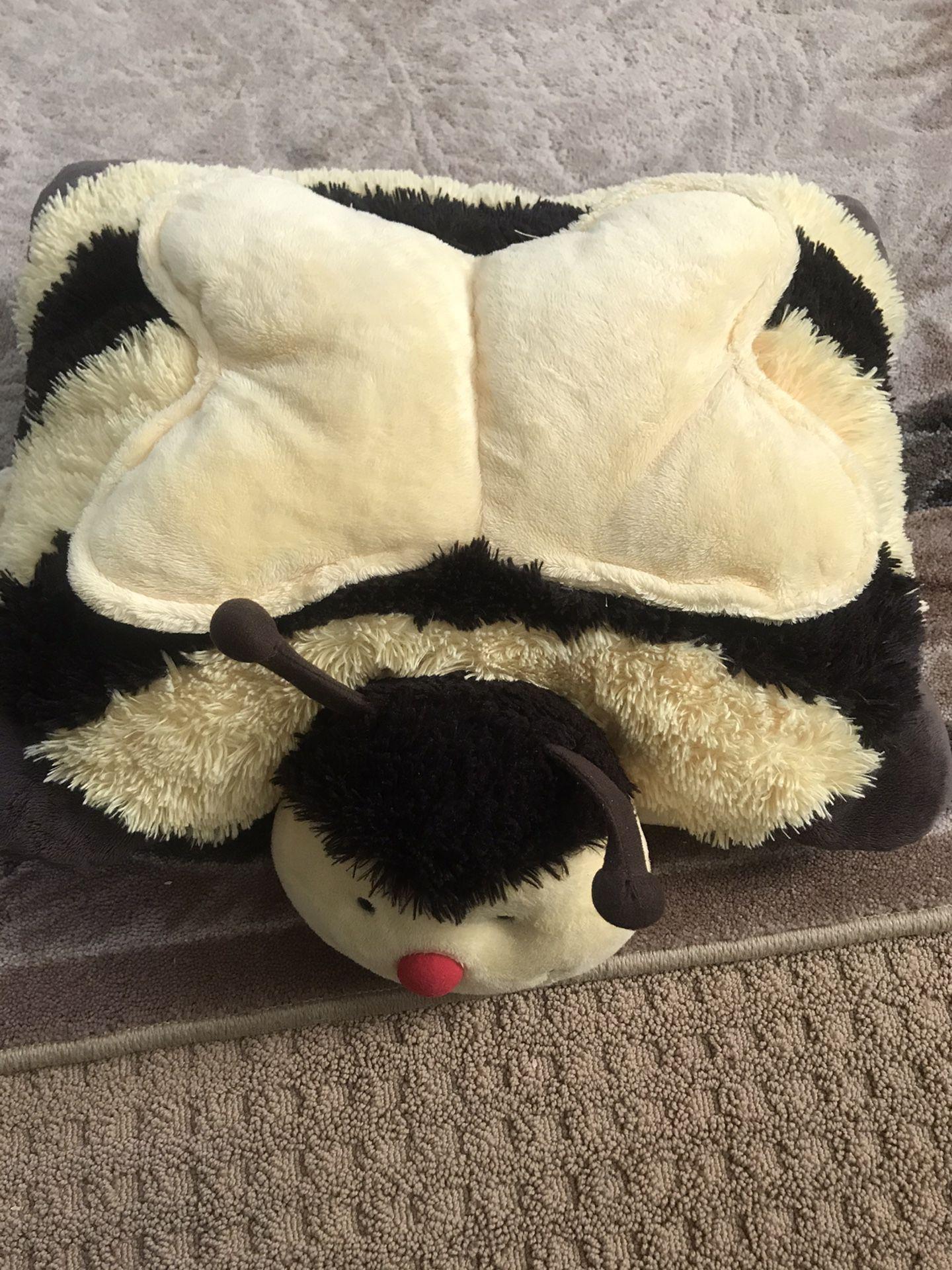 Plush Bumble Bee Pillow Pet