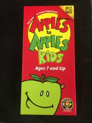 APPLES TO APPLES KIDS VERSION for Sale in Las Vegas, NV