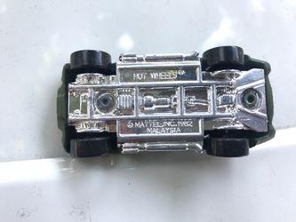 1982 Shelby cobra army hot wheels Thumbnail