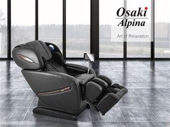 New! OSAKI OS-PRO ALPINA SL-TRACK MASSAGE CHAIR WITH ZERO GRAVITY & BODY SCAN $39 Down (NO CREDIT CHECK FINANCING) Thumbnail