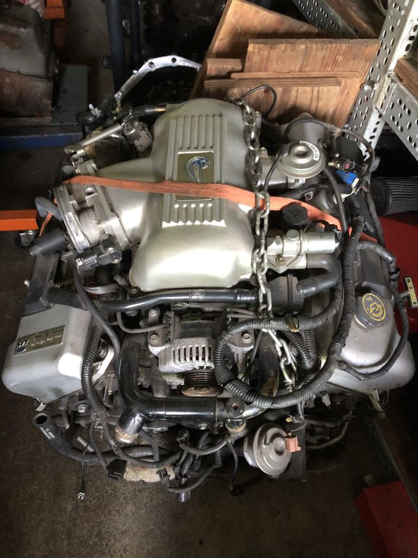 Car Dealerships Vancouver Wa >> 1998 Ford Mustang SVT Cobra Engine & Trans & Rear Axle for Sale in Vancouver, WA - OfferUp