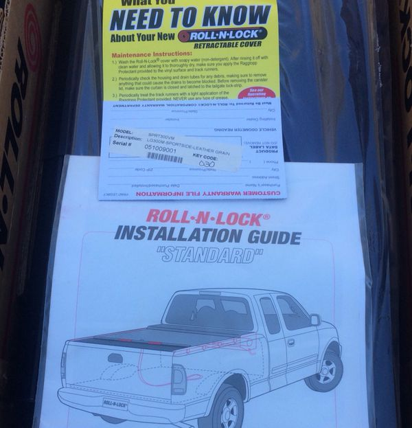Retractable Roll N Lock Truck Bed Cover For 88 98 Sport Side Chevy