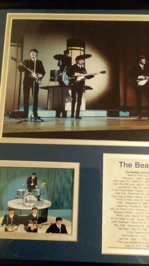 The beatles original picture 1964 for Sale in St. Charles, MD