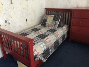 2 Bed Frames and Two Dressers for Sale in Frederick, MD