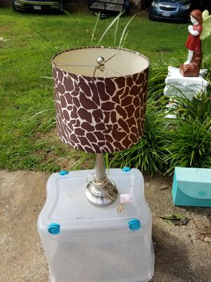Lamp with shade for Sale in Woodstock, GA