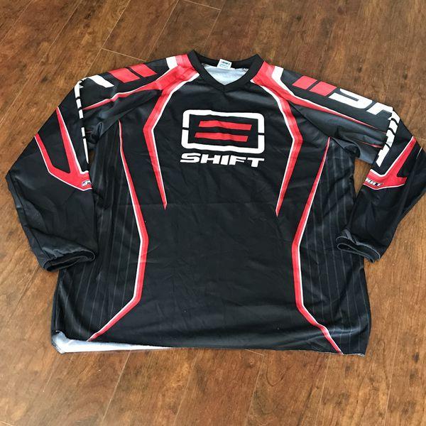 SHIFT~RED/BLACK MEN\'S MOTOCROSS MX/DIRT BIKE RIDING JERSEY, SZ XXL~NWOT~  for Sale in Port St. Lucie, FL - OfferUp