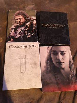 Game Of Thrones Seasons 1-4 for Sale in Springfield, VA