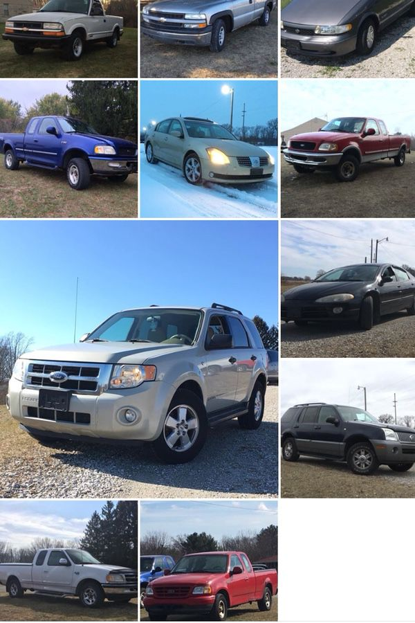 Cars for sale... cash only. (Cars & Trucks) in South Bend, IN - OfferUp