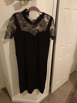 Elegant dress size 16 Thumbnail