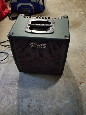 Crate Acoustic Guitar Amp for Sale in Altamonte Springs, FL