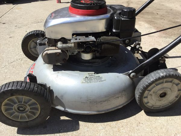 4 5 Hp Craftsman Push Mower Aluminum Deck Runs Great For In Fort Worth Tx Offerup