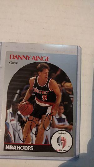 Danny Ainge autograph card for Sale in Jacksonville, FL