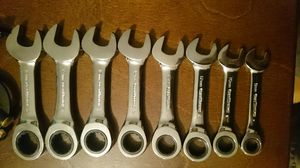 Gearwrench 8 pc ratcheting wrench set for Sale in Christmas, FL