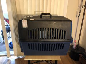 Plastic dog kennel for Sale in Alexandria, VA