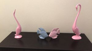 Ceramic/Porcelain Birds and Fish for Sale in Davenport, FL