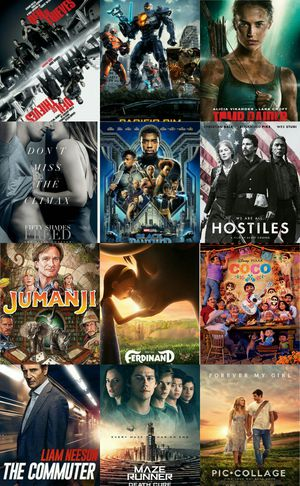 1 FOR $3 OR 4 FOR $10 HOSTILES FIFTY SHADES FREED FERDINAND DEN OF THIEVES COCO MAZE RUNNER 3 BLACK PANTHER FOREVER MY GIRL PACIFIC RIM 2 for sale  US