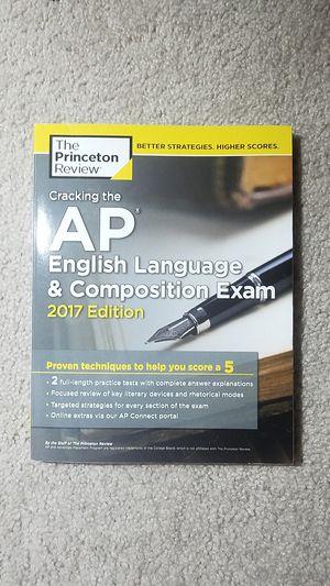 AP English Language & Composition Exam Book (2017 Edition) for Sale in Fairfax, VA